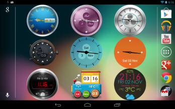 Beautiful Clock Widgets set hits the Play Store, lets you change that ugly clock with peppy designs