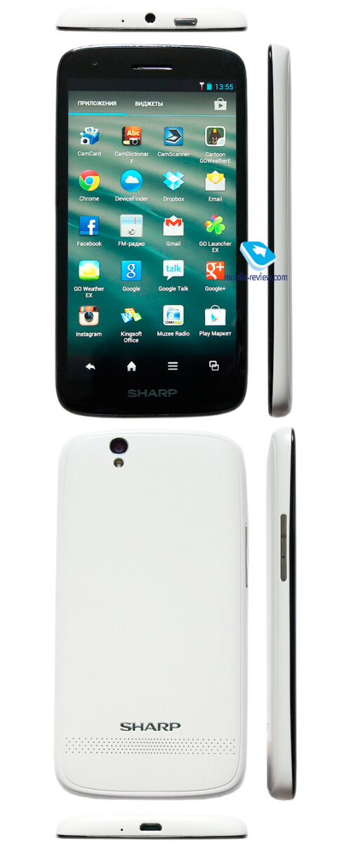 Sharp Aquos SH930W 5-inch full HD phone