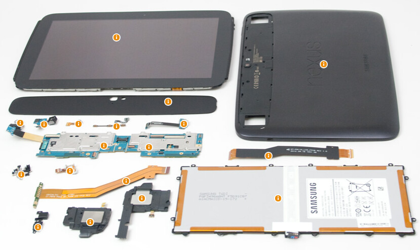 Before and after pictures of the Google Nexus 10 - Teardown time for the Google Nexus 10 and its outrageous display
