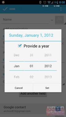 People app in Android 4.2 (right) vs 4.1 (left) - Google forgets to include December in its Android 4.2 People app, Holidays are officially cancelled