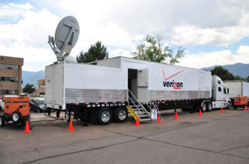 Verizon's mobile emergency trailers were a big help in the days following the storm
