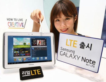 The LTE variant of the Samsung GALAXY Note 10.1 has been launched in Korea