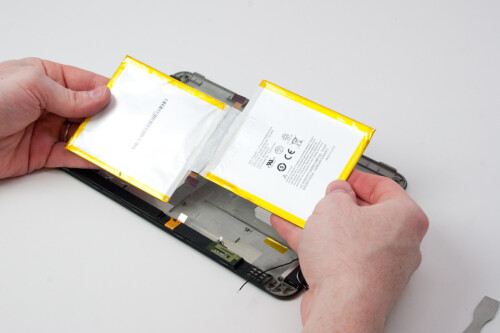 "Amazon Kindle Fire HD 8.9"" being taken apart"
