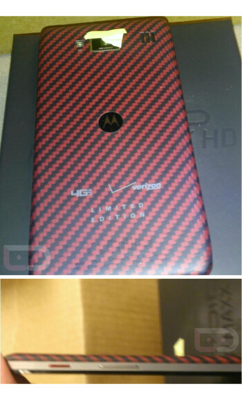 Limited edition Motorola DROID RAZR MAXX HD pictured
