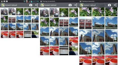Zoom in Gallery, Email, Video - LG Optimus UI