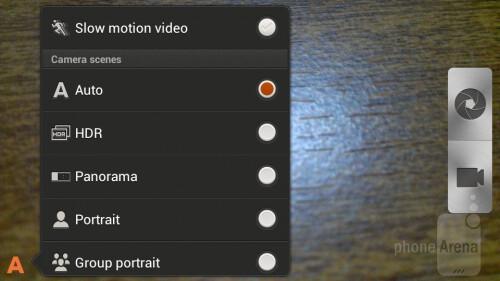 Camera tweaks - Slow Motion video recording - HTC Sense