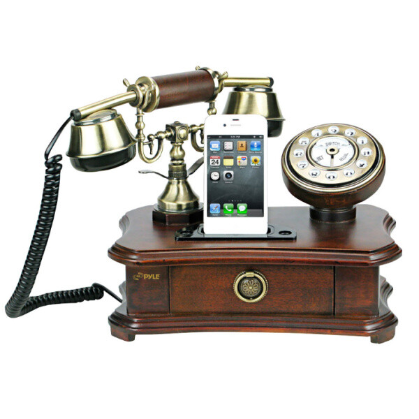 Retro smartphone docking station is retro, yours for $90