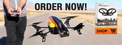 Parrot AR Drone 2.0 - $299.95