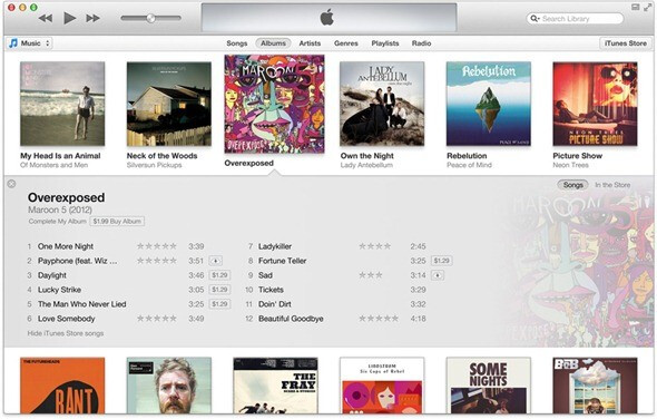 The updated interface is expected to be simpler overall. - iTunes 11 getting ready to launch soon, Apple ready for musicians' pictures