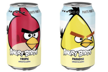 In Finland, Angry Birds soda outsells Coke and Pepsi