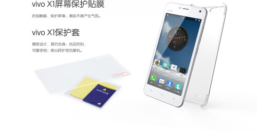 The BBK Vivo X1: the world's thinnest smartphone