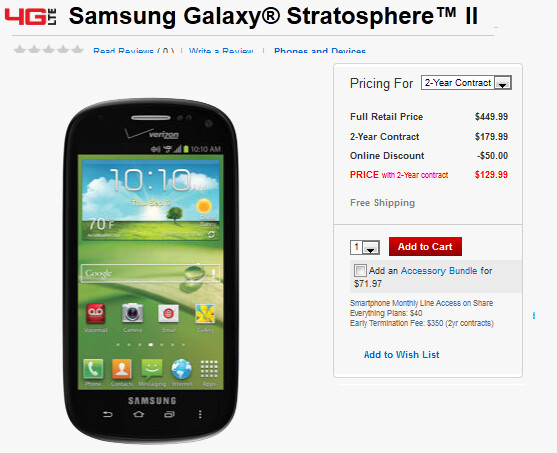 The Samsung Stratosphere II - Samsung Stratosphere II side-slider now available from Verizon