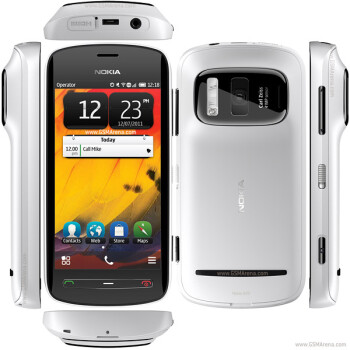 The Nokia 808 Pureview with its 41MP camera