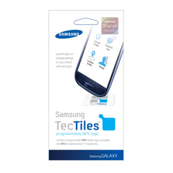 Samsung's Tech Tile lets you program your device to respond to NFC signals