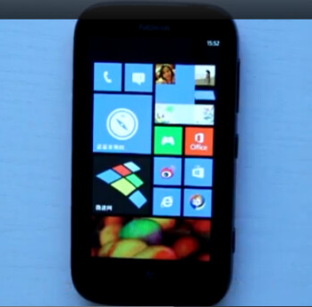 Saturday's video showed the Windows Phone 7.8OS build on a Nokia Lumia 510