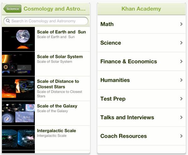 Khan Academy app now available on iPhone