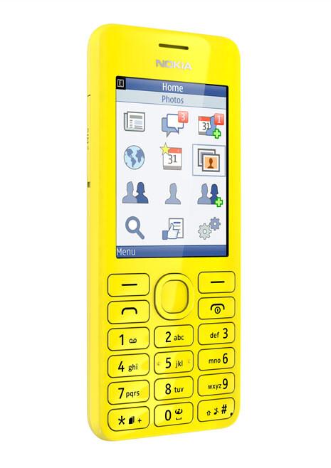 Nokia 206 pays homage to Nokia 6300