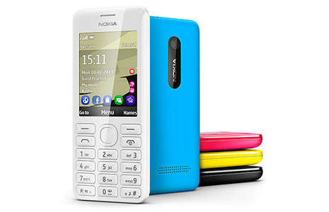 Nokia 206 pays homage to Nokia 6300