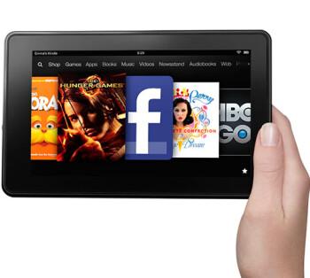 The Amazon Kindle Fire 2