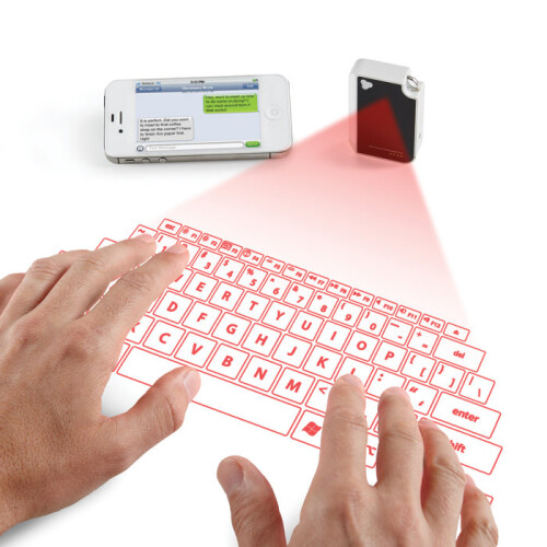 CTX to embed a projection keyboard in your phone, its $99 keychain gear sells out at Brookstone