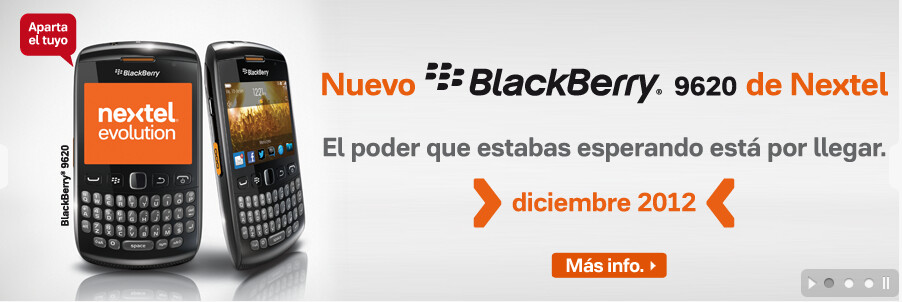 The BlackBerry Patagonia 9620 could be one of the last BlackBerry OS 7 models - Confidential document leaks the specs of the BlackBerry Patagonia 9620, coming to Nextel Mexico