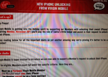 Leaked documents reveal the $75 charged by both VirginMobile Canada and Bell Canada to unlock the Apple iPhone