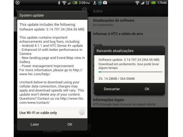 Android 4.1.1 Jelly Bean update for HTC One X is rolling out globally