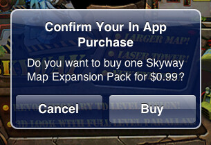 In-app purchases are part of the $30 billion spent on apps - Cumulative app revenue to hit $30 billion by the end of 2012