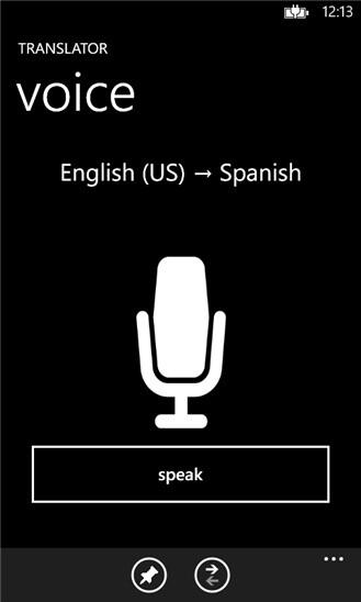 Bing Translator for Windows Phone - Bing Translator released for Windows Phone 8