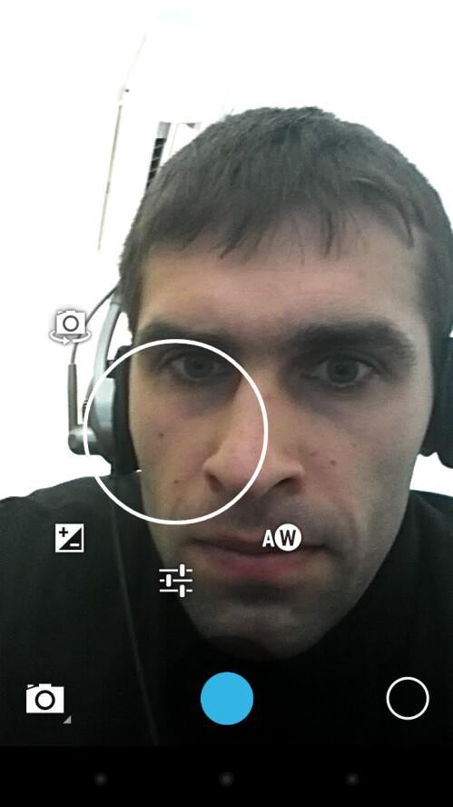The camera UI is overhauled