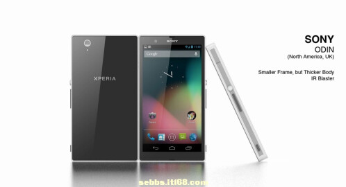 More Sony Odin and Yuga concept renders appear to illustrate their size and specs difference