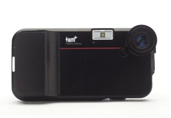 The i.am+ foto.sosho C.4 and V.4 iPhone camera accessories by will.i.am
