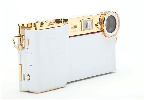 The i.am+ foto.sosho C.4 and V.4 iPhone camera accessories by will.i.am - Will.i.am debuts iPhone camera attachment with 14MP sensor and interchangeable lenses