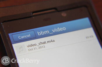 BBM Video is coming soon