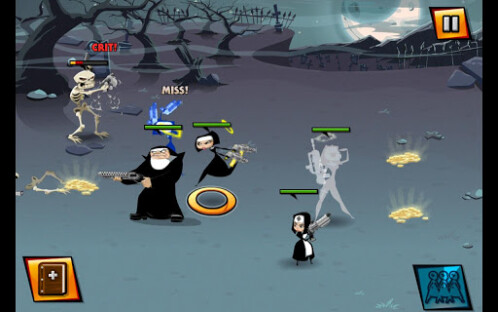 Nun Attack screenshots