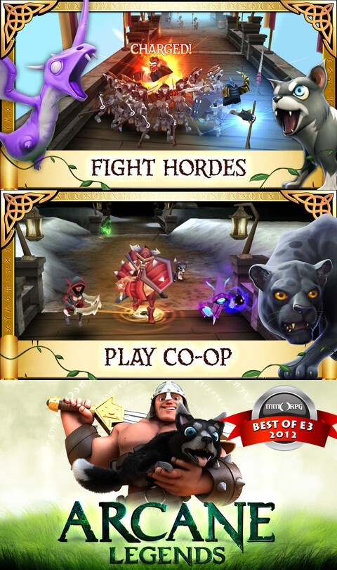Arcane Legends - Android, iOS - Free (action and arcade)