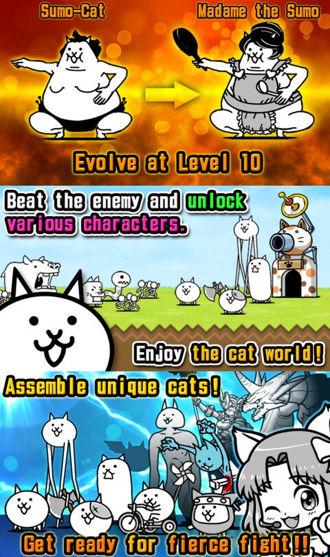 Battle Cats - iOS - Free (action and arcade)
