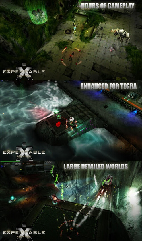 Expendable Rearmed - Android - $2.99 (action and arcade)