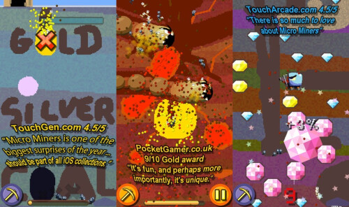 Micro Miners - iOS - $0.99 (puzzler)
