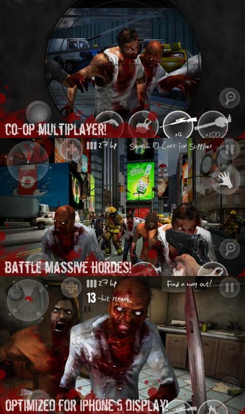 N.Y. Zombies 2 - iOS - $1.99 (shooters)
