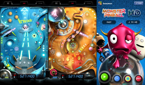 Monster Pinball HD - iOS - $1.99 (puzzle)