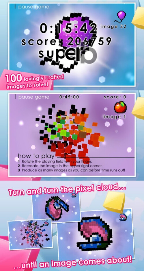 Pixel Twist - Android - Free (puzzle)