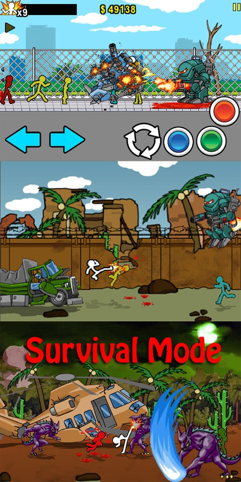 Anger of Stick 2 - Android, iOS - $0.99 (action and arcade)