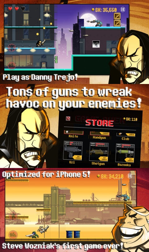Vengeance: Woz With A Coz - iOS - $0.99 (action and arcade)