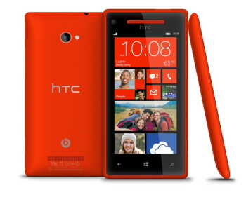 The HTC Windows Phone 8X