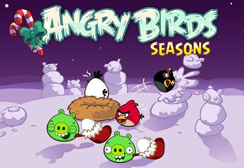 Grab the new update to Angry Birds Seasons - Angry Birds Seasons brings one new level for each day until Xmas