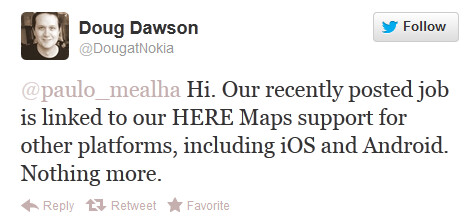 Dawson puts the No in Nokia - Nokia denies it is looking at Android