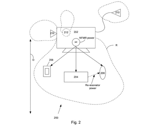 Apple Applies For Patent On Wireless Charging System