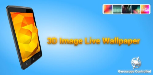 3D Image Live Wallpaper - Android - $1.49