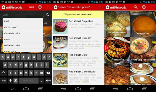Recipe Search - Android - Free